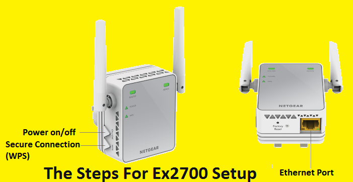 Steps For Ex2700 Setup